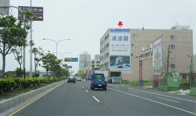 N-0117壁面廣告塔-台南市南區濱南路69號-七股、佳里、安平港廣告看板