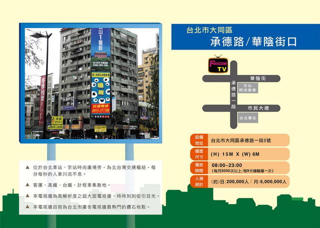 台北京站時尚廣場對面