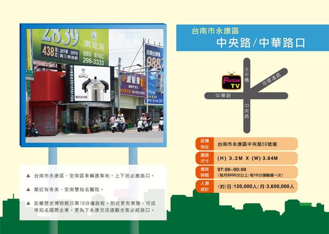 台南市永康區中央路/中華路(太平橋)