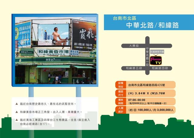 台南市北區中華北路/和緯路 (和緯黃昏市場)