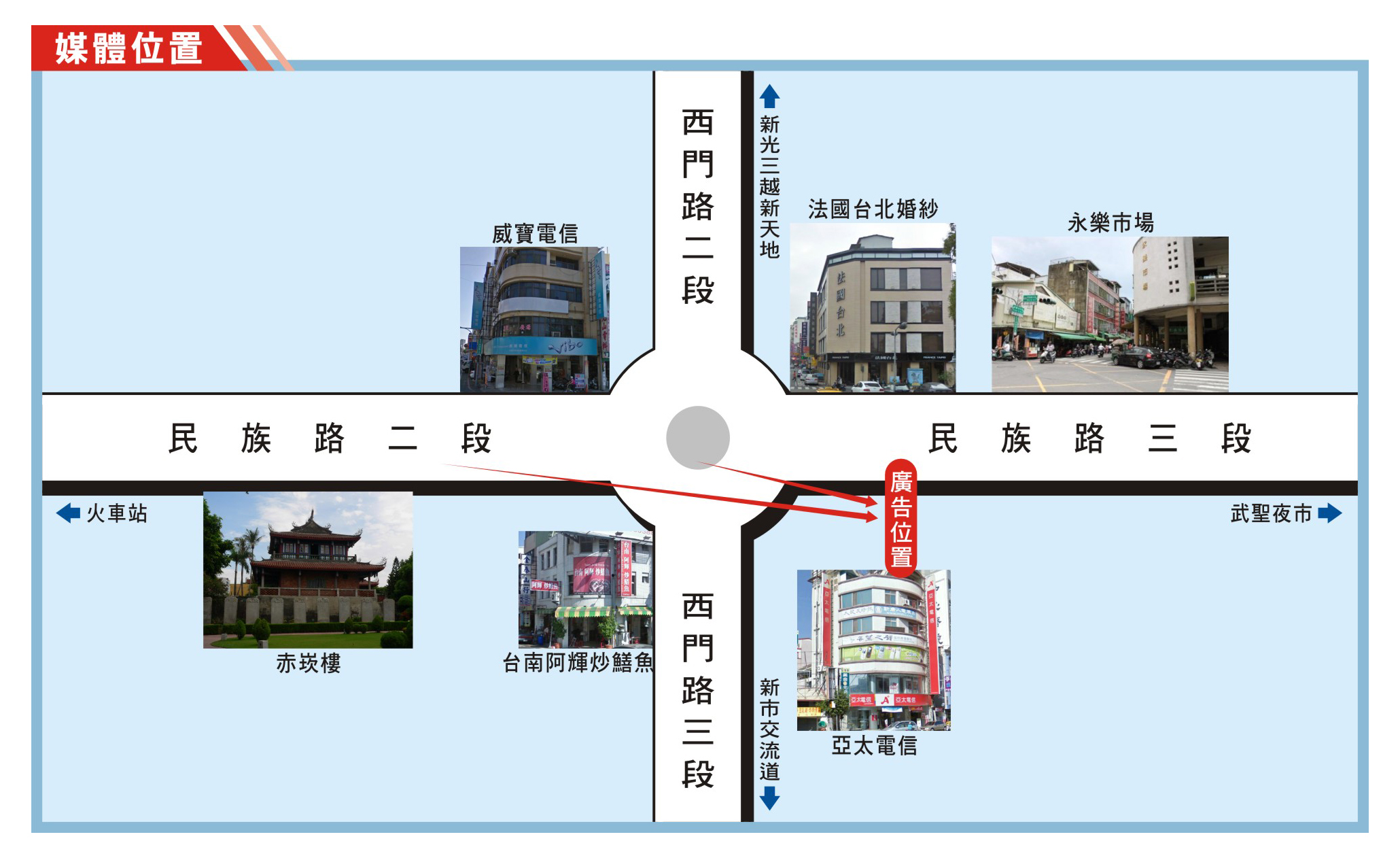 N-0806-民族路往永樂市場方向、國華街、水仙宮市場
