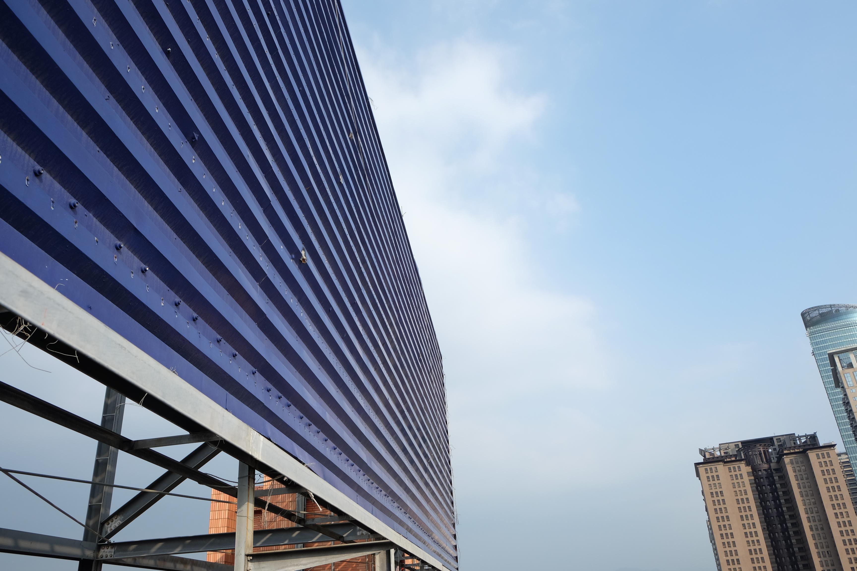 頂樓廣告鋼架