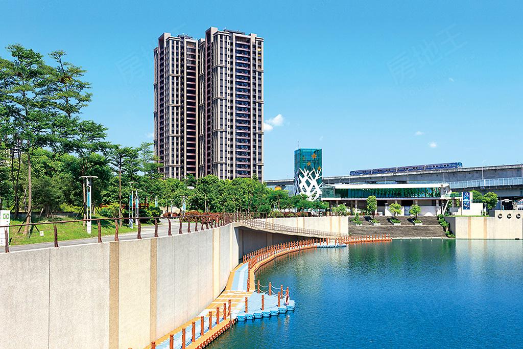 圖片:新北市新莊區副都心捷運站,地段超優珍貴地產