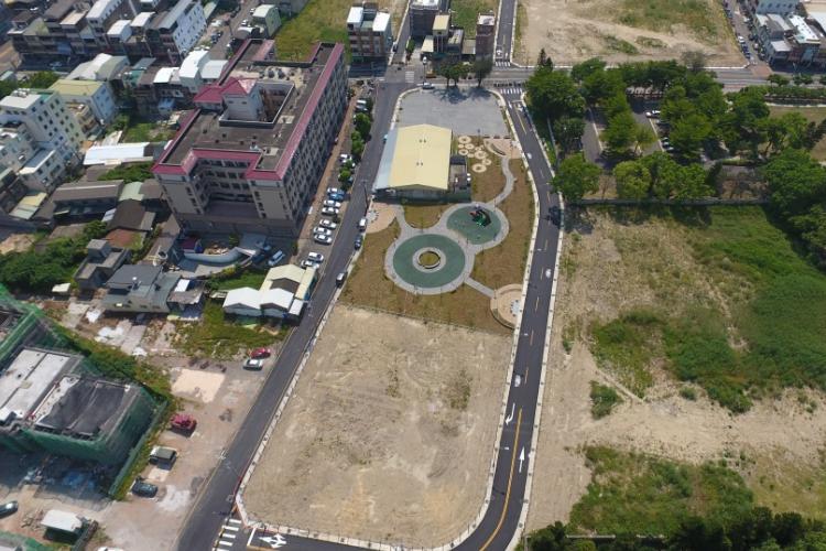 圖片:袍澤市地重劃區拉抬南苗房市