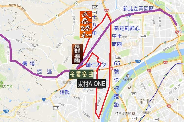 圖片:機場捷運加持!溫仔圳重劃區蓄勢待發