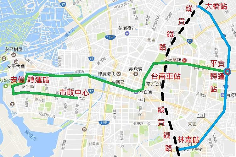 圖片:台南市也將有捷運了!房市捷運題材正要開始