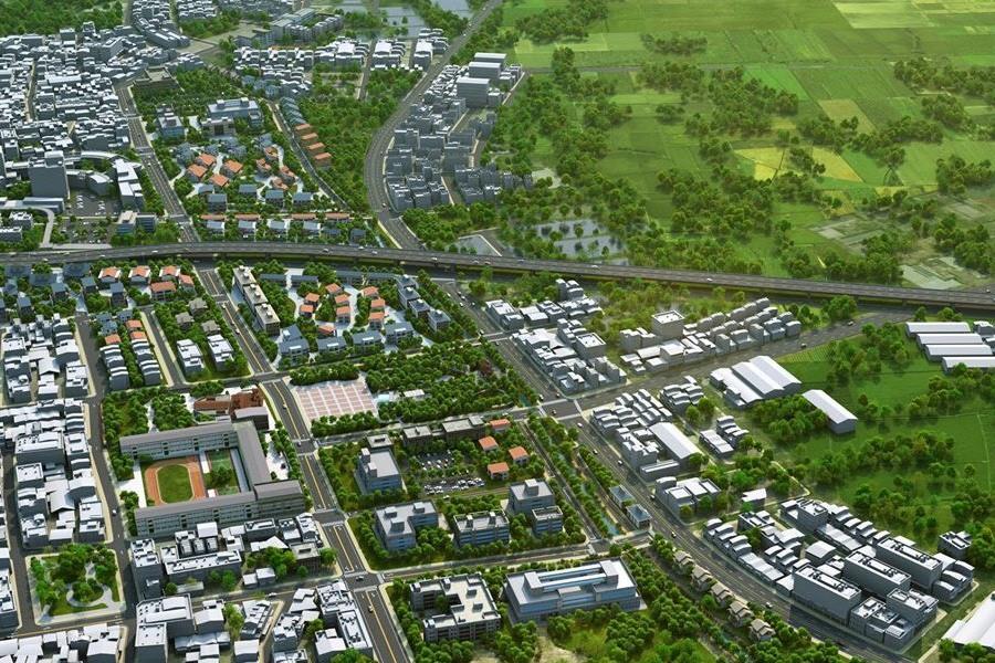 圖片:喜樹灣裡市地重劃區市府展開重劃作業,黃偉哲:將為南區帶來發展新面貌