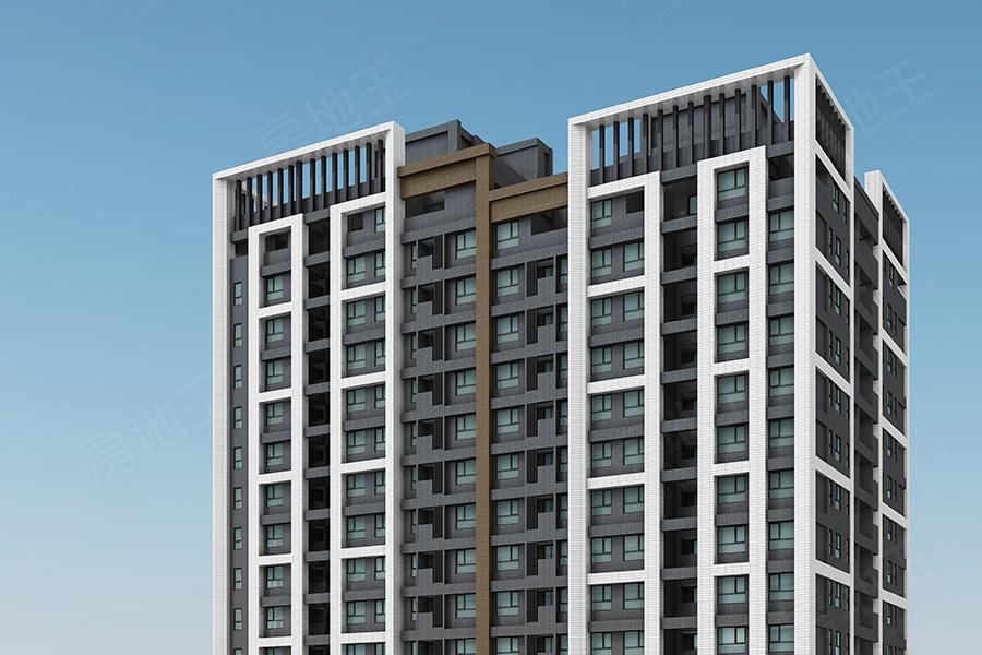 圖片:新北市八里區黃金地段大樓,商圈熱鬧機能優