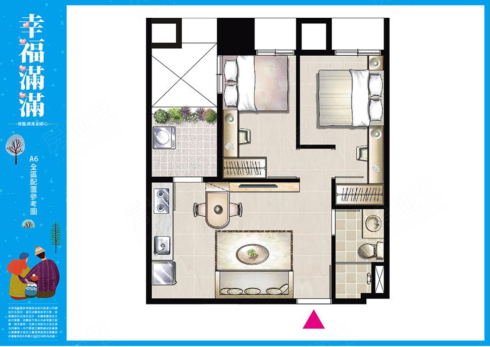 圖片:新北市泰山區優質大樓店住,格局方正地段優