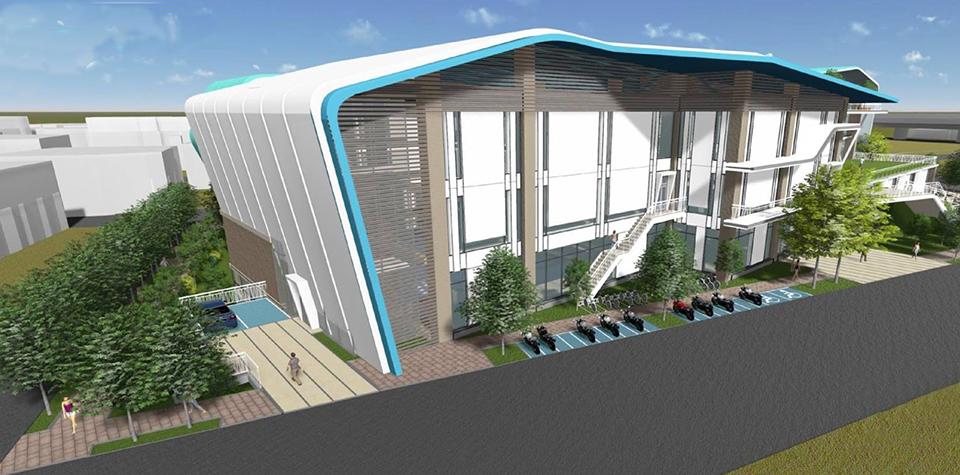 圖片:豐原居民有福了!「豐富專案」來了 國民運動中心預計112年完工