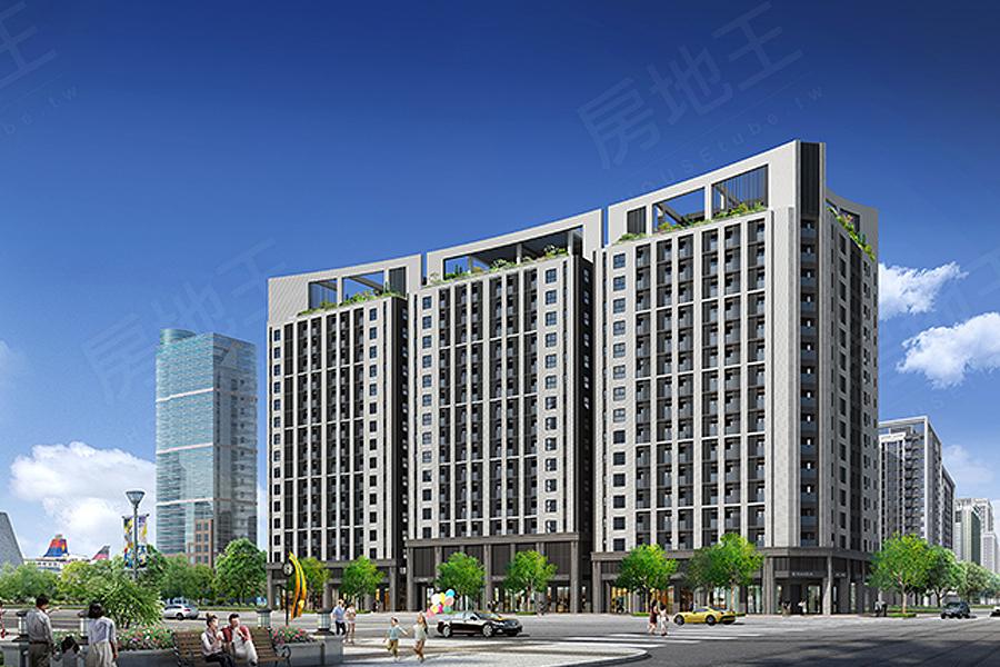 圖片:入住高雄新灣區,走路就到盡享便利生活機能
