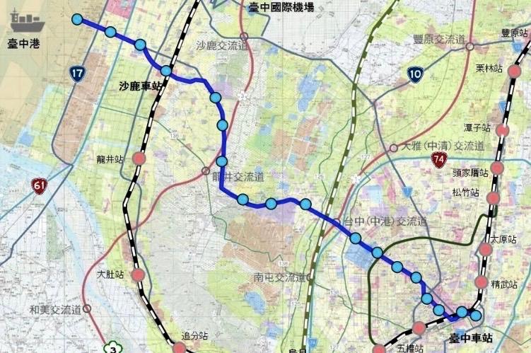 圖片:台中藍線捷運蓋定了!房市搶先卡位區曝光