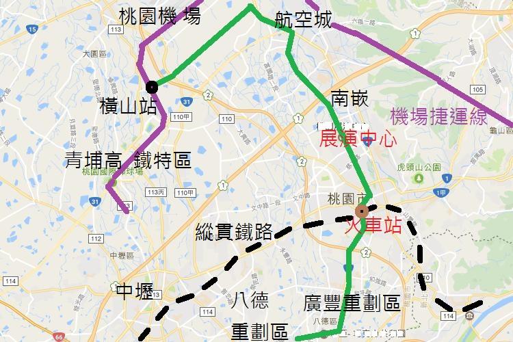 圖片:幸福終點站系列!桃園捷運綠線嘉惠八德、蘆竹房市