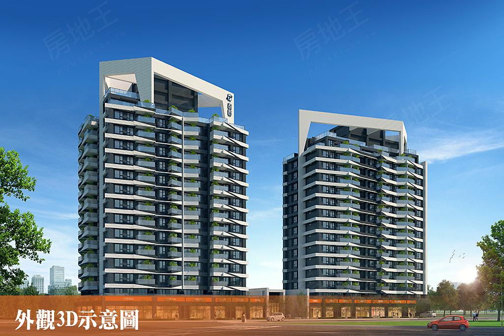 圖片:高雄市鳳山區熱鬧新特區,房產受歡迎