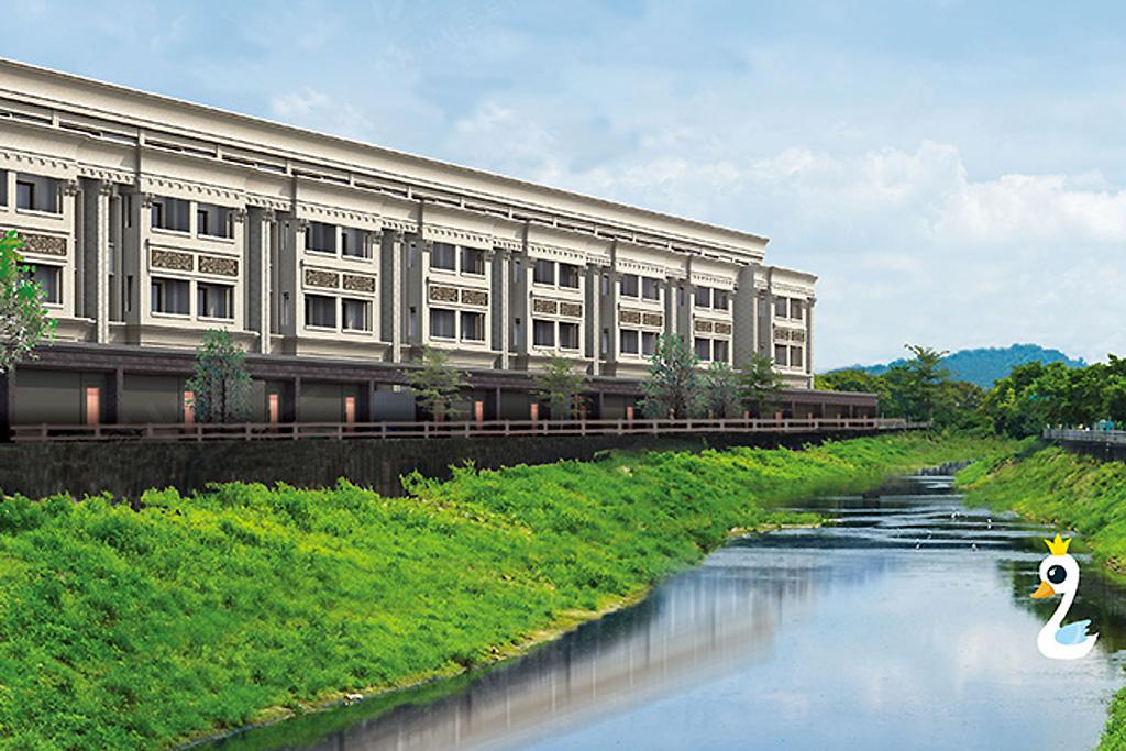 圖片:高雄市林園區河堤造鎮,天然棟距地段優良