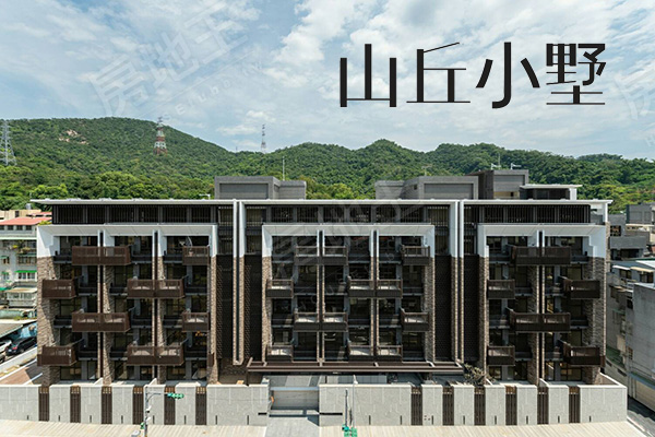 台北市內湖區山丘小墅新建案