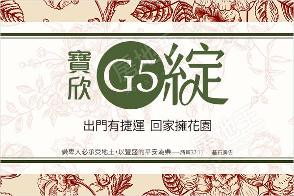 寶欣G5綻