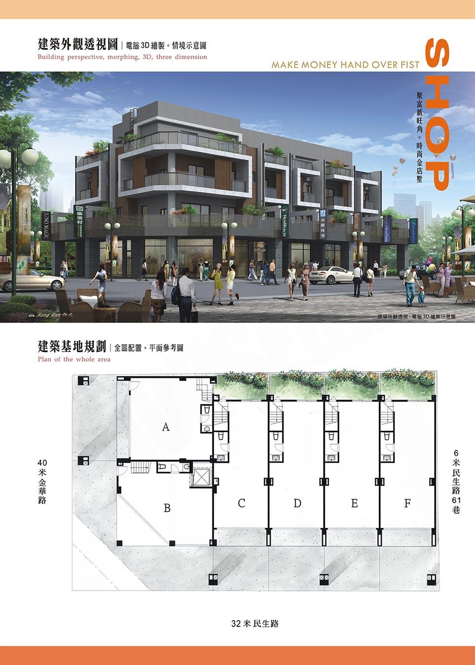 三代居NO.9(民生+金華)建案